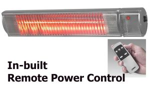 Patio Heaters with Integral Remote Control