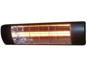 1.5kW Summerglow Heater - Black with 'softglow' lamp