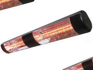 3kW Powerful Summerglow Infra-red Heater (BLACK)