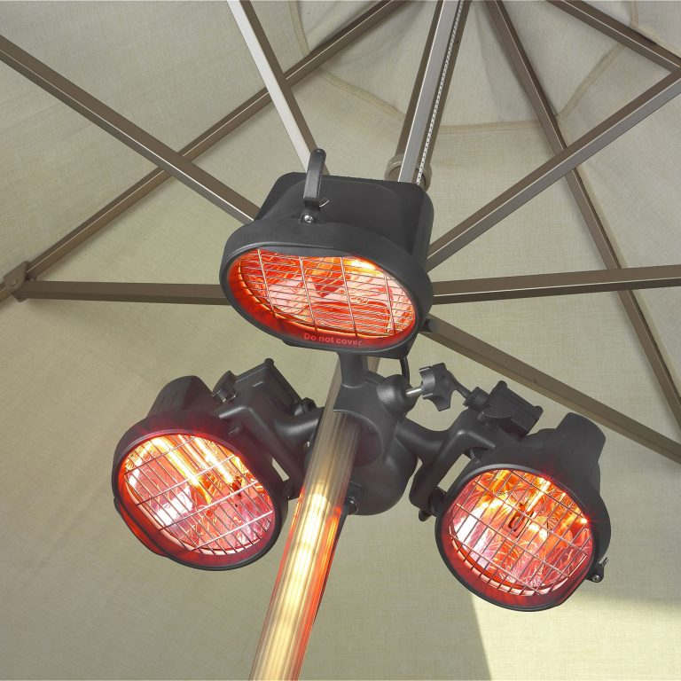 1.5kW Infra-red Domestic Parasol Heater.