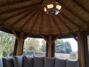Heating for Garden Rooms and Gazebos